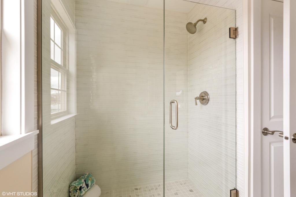 Elm Street Place Luxury Townhome Rentals Deerfield IL - Master Bathroom Steam Shower