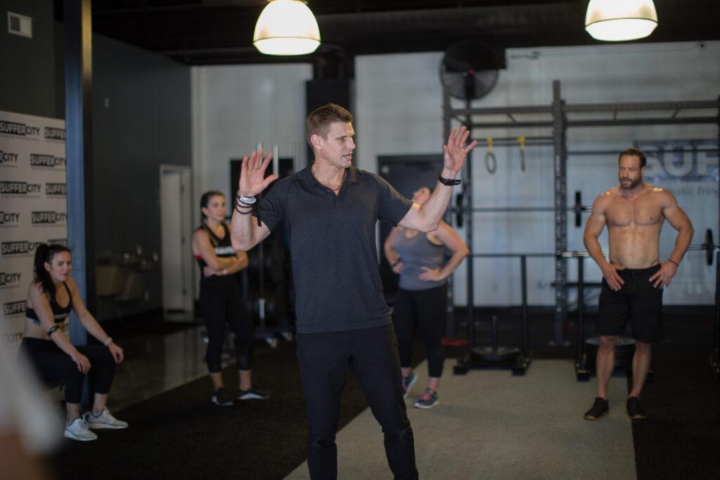 Jason Teaching Fitness