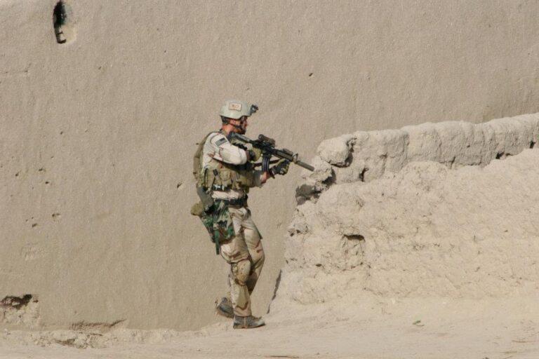 Jason France In Gunfight In Afghanistan