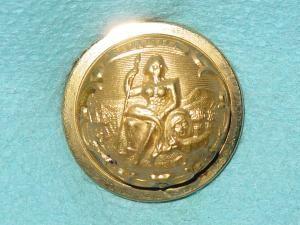 Pattern #00137 – CALIFORNIA State Seal  EUREKA  (staff)