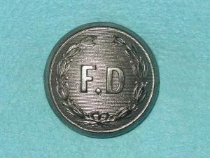 Pattern #00242 – FD in wreath (Domed)