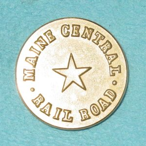 Pattern #03357 – Maine CENTRAL Railroad Flat  (Star in Center)