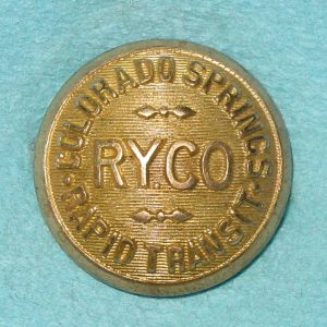 Pattern #08775 – COLORADO SPRINGS RAPID TRANSIT RY.CO.