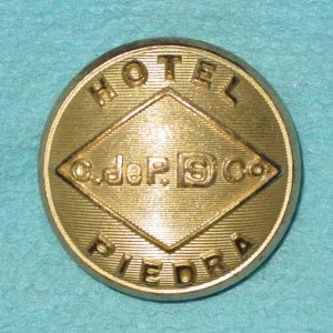 Pattern #10614 – PIEDRA HOTEL  C.deP.DS CO.