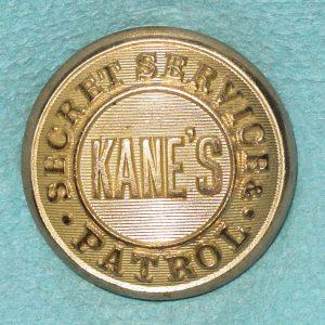 Pattern #10916 – KANE'S SECRET SERVICE & PATROL