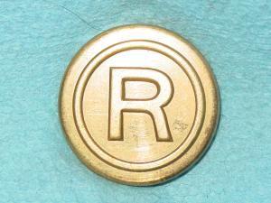 Pattern #11694 – R in Circle (flat)