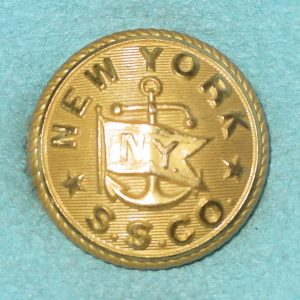 Pattern #04773 – NEW YORK S.S.CO. (w/  flag & Anchor)