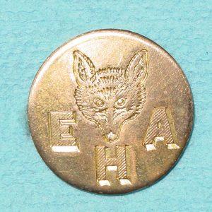 Pattern #14532 – EHA w/ Fox Head (solid 1-pc.)