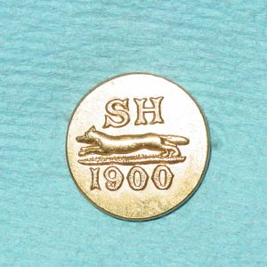 Pattern #14634 – SH 1900 w/ fox (Hunt Club) solid 1-pc.