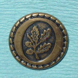 Pattern #16512 – Oak leaf in oval circle