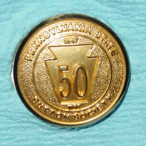 Pattern #17464 – PENNSYLVANIA STATE Button SOCIETY  50TH 1947-1997