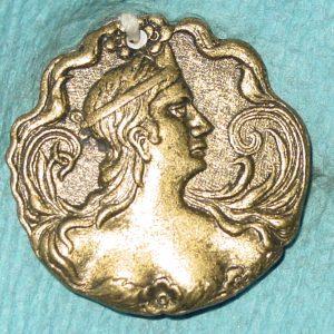 Pattern #28245 – Roman Woman profile (flat solid 1-pc.)