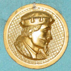Pattern #28332 – King (profile of head)