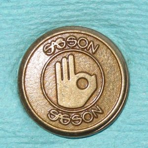 Pattern #29927 – Sasson (w/ hand emblem)