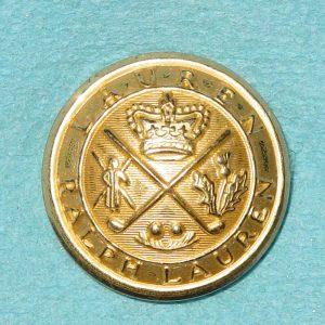 Pattern #30164 – R. L. Lauren  ( High Dome) Crown & Crossed Clubs