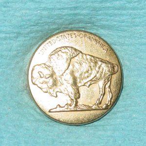 Pattern #80135 – Buffalo Nickel