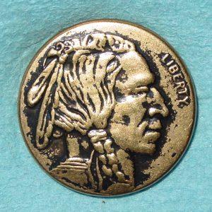 Pattern #81109 – Nickel Indian Head w/ Liberty