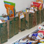 Food Sacks Donated for families