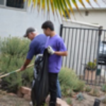 Cleaning-up-landscape-around-a-PLL-Home