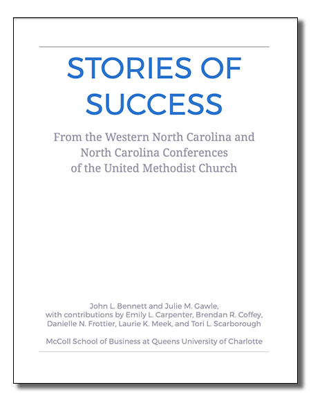 Stories of Success from the Western North Carolina and North Carolina Conferences of the United Methodist Church