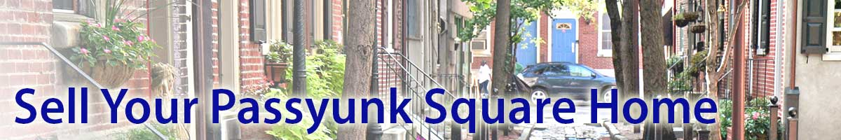 Sell My Passyunk Square Home