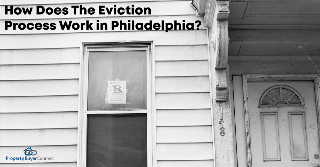 How does the eviction process work in philadelphia