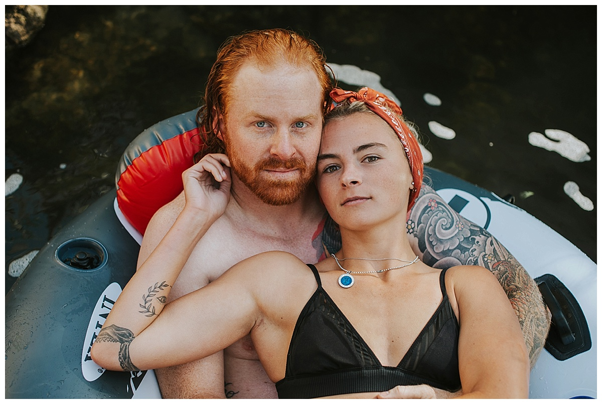 Idaho couples session lava hot springs