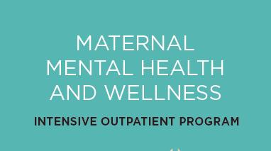 Mission Hospital Maternal Mental Health Intensive Outpatient Program