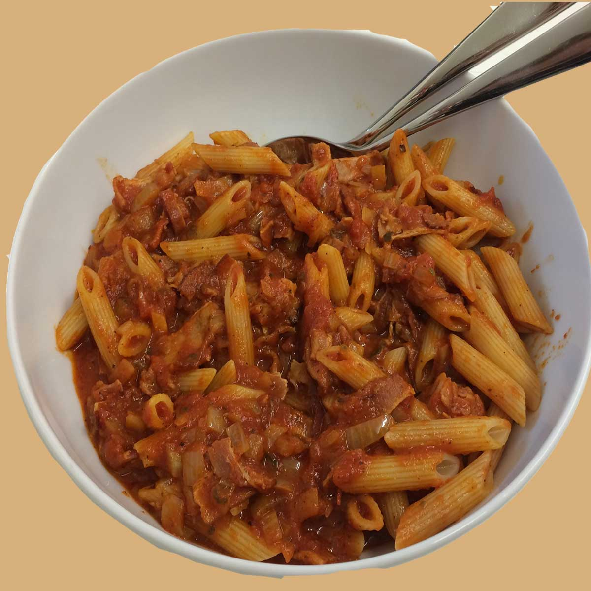 Penne with Meatballs