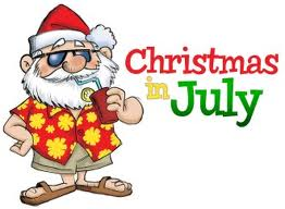 New York Christmas in July Santa