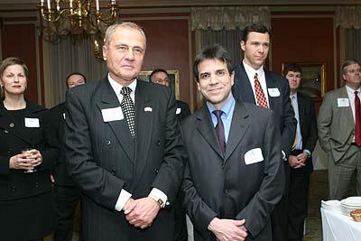 Senator John Bonacic and Jay Halfon