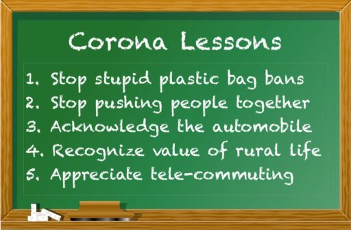 Corona Lessons