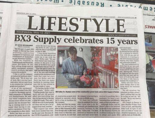 BX3 Supply & Rental