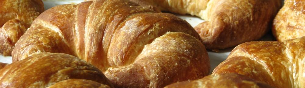 tradtional butter croissants
