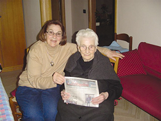 Stella Clove and her aunt Stella Lonigro.