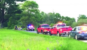 This photo, from WOODTV.com, is of a Sunday, June 28 accident that claimed one life and injured another person. Alcohol was believed to be a factor, authorities stated.