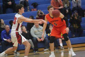 Ryan Gamm (5) of Rockford is a senior