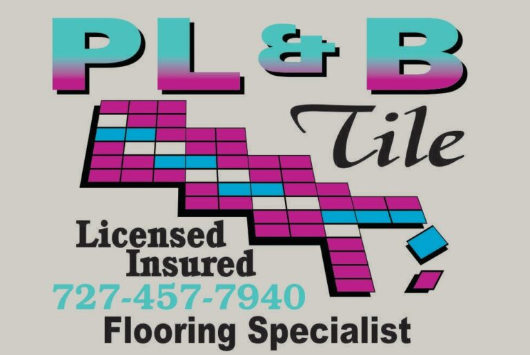 Logo PL&B Tile