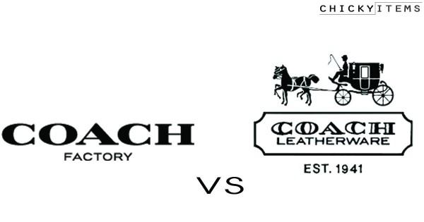 ความแตกต่างระหว่าง Coach Outlet และ Coach Shop