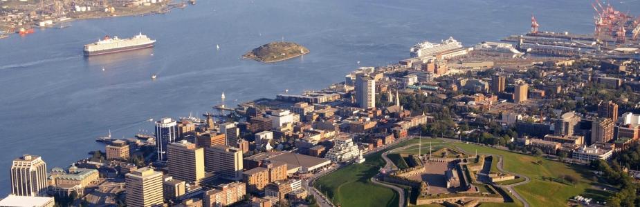 Halifax aerial