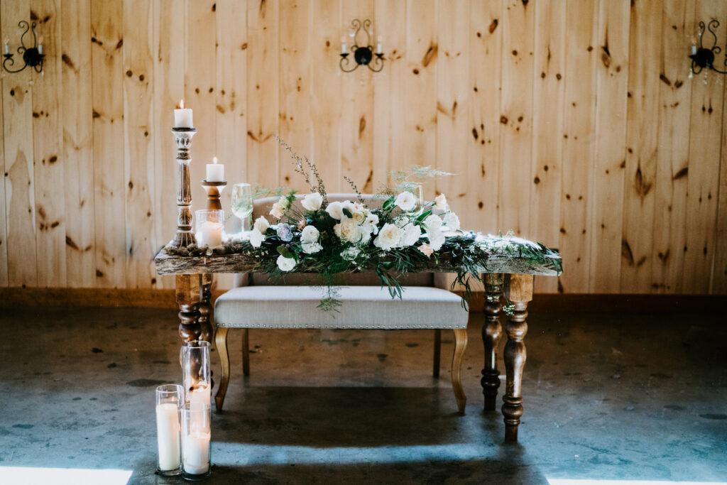 Wedding styling and decor- hampton, CT
