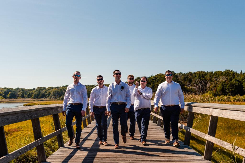 Cape Cod Wedding- Groomsmen, Eastham, MA Wedding