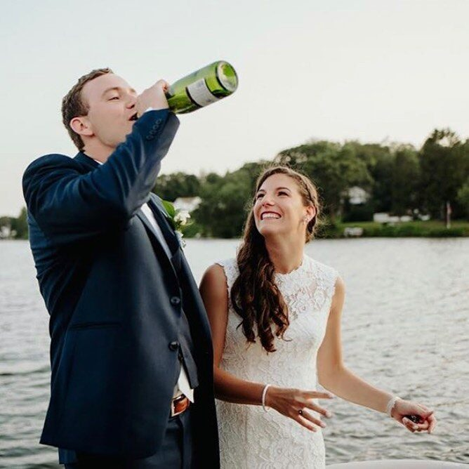 Taylor + Jason's tented wedding in Wolcott, CT.