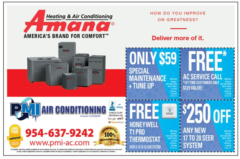 Amana Air Conditioning Offers