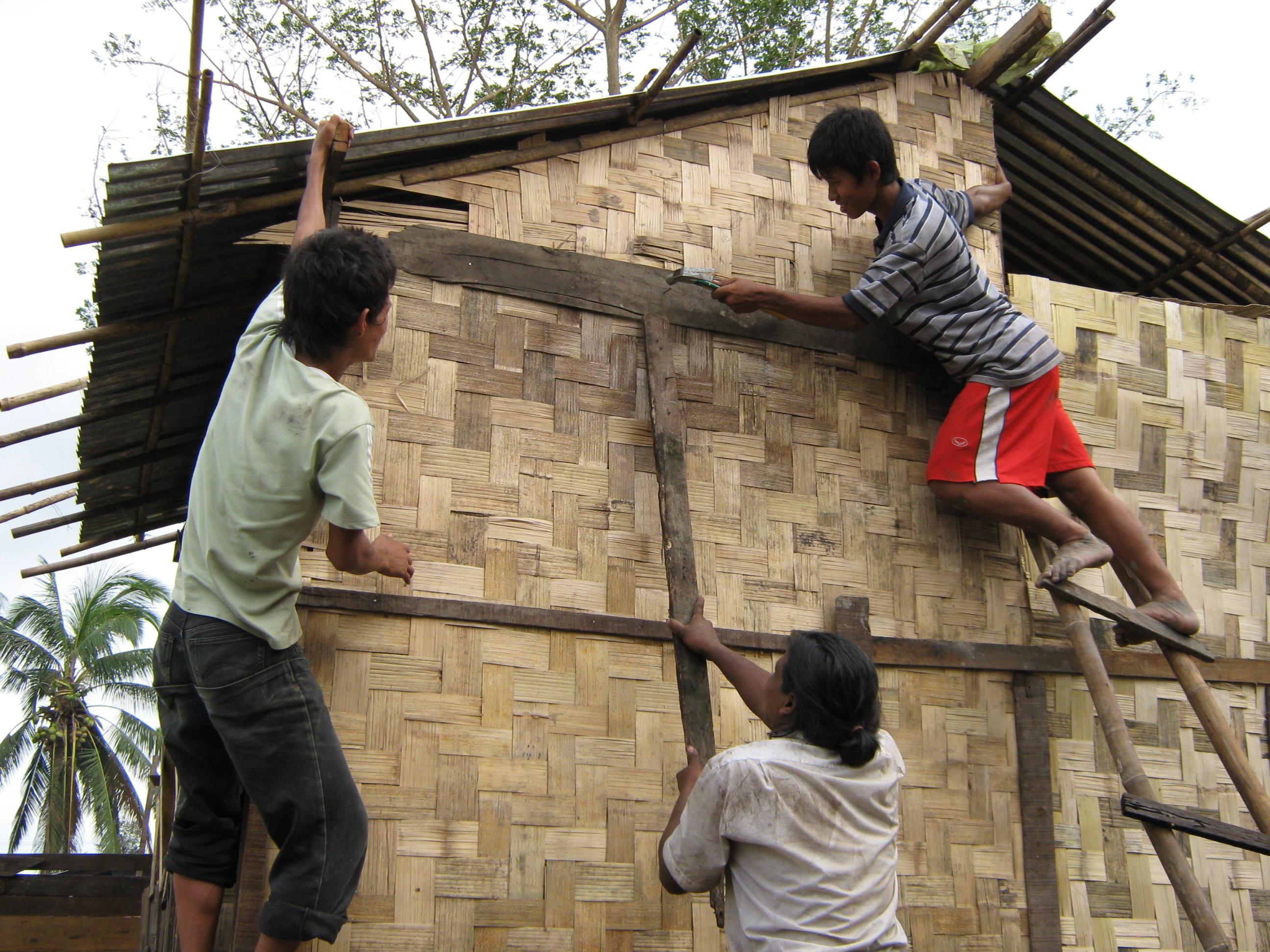 Volunteers_Repairing_homes