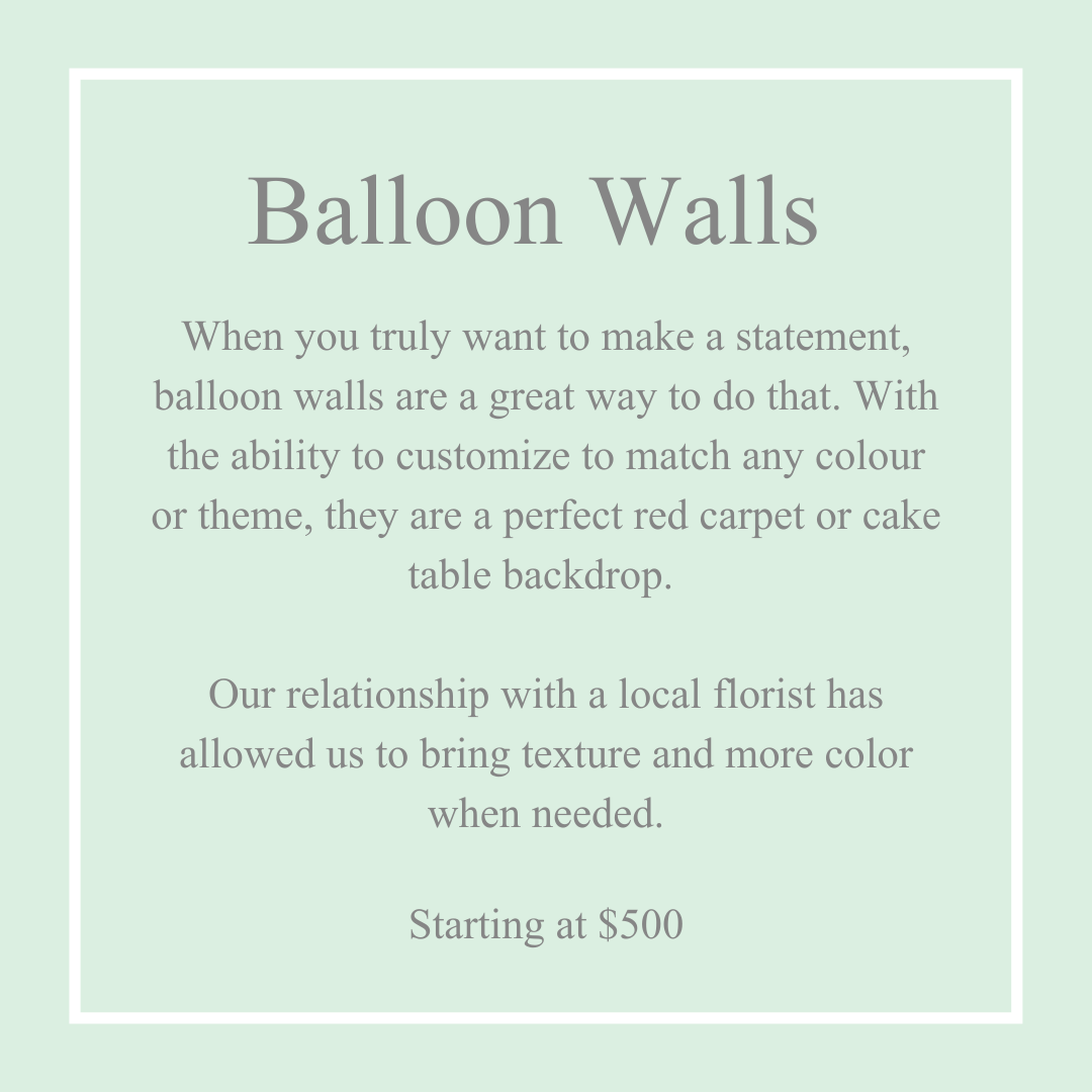 Balloon Walls