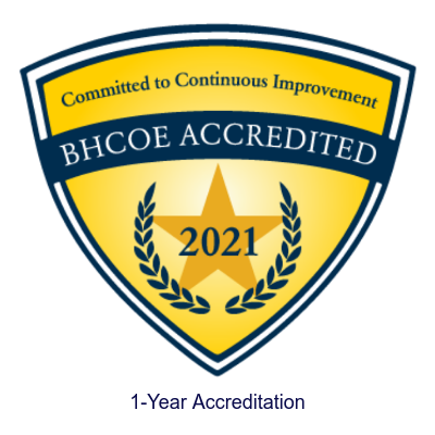 BHCOE credentialing