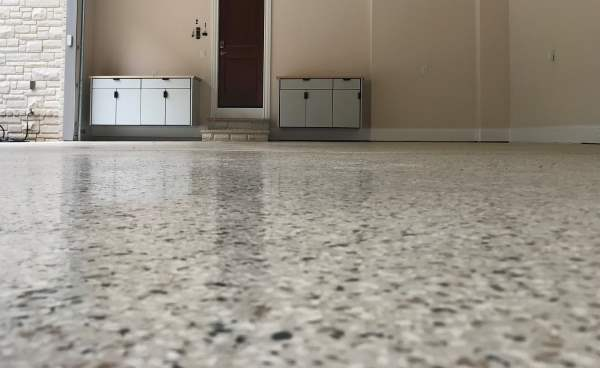 Our Epoxy Resin and Top Coat Flooring System Provides a Hard Durable Surface