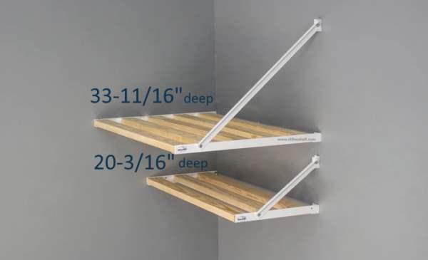 Shelf Section Sizes