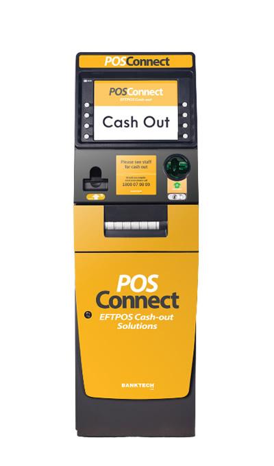 POSConnect EFTPOS Cash-out machine